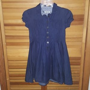 Girl's Cherokee blue jean dress